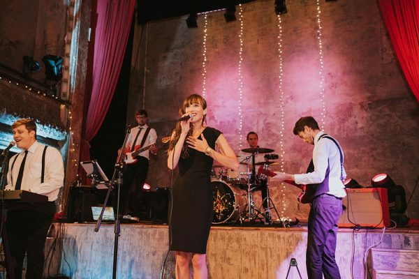 5 piece wedding band male and female vocals