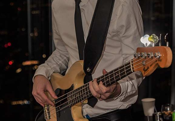 4 piece party band london bass guitar the shard